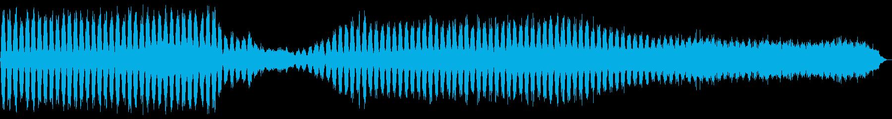 神秘的で静謐とした雰囲気のある楽曲ですの再生済みの波形