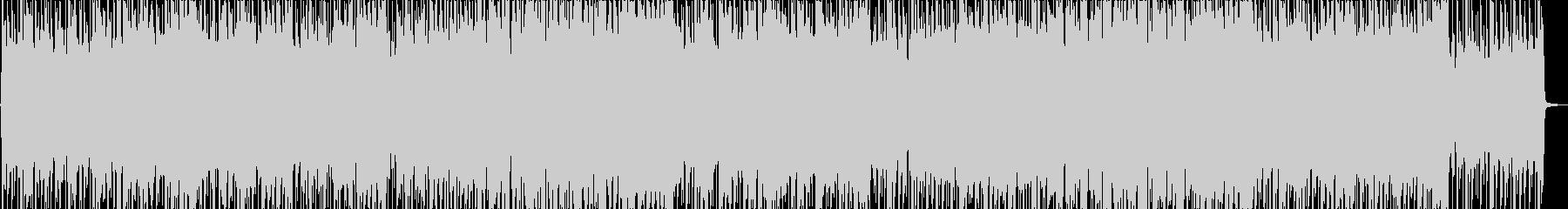 爽やかなBGM/生録音アコギの未再生の波形