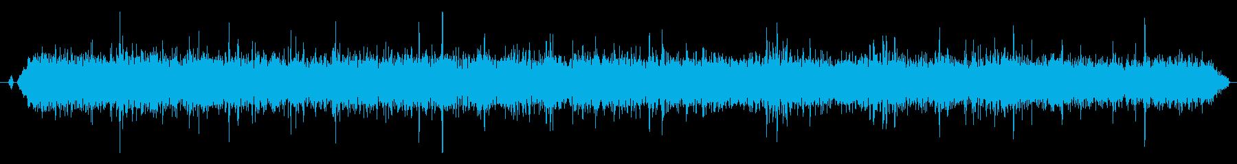 ステレオ感のある拍手、拍手喝采の効果音2の再生済みの波形