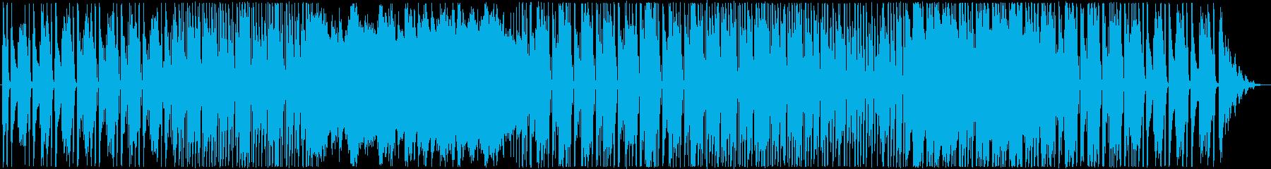 爽やかで軽快なアコースティックの再生済みの波形