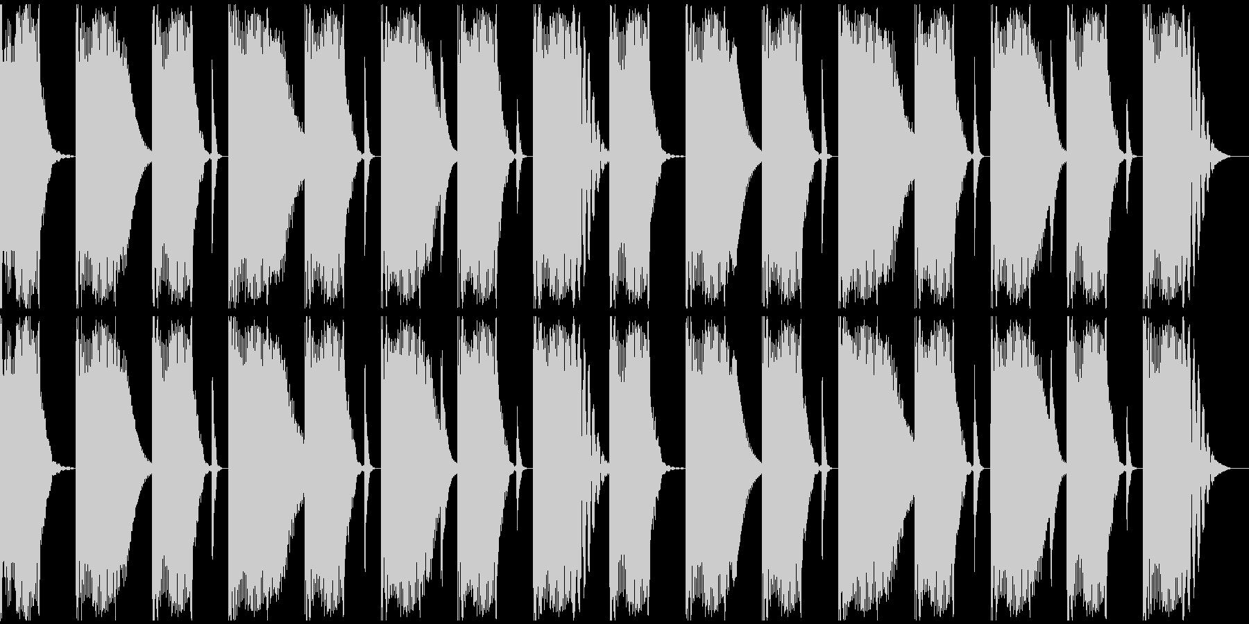 【エレクトロニカ】ロング2、ショート3の未再生の波形