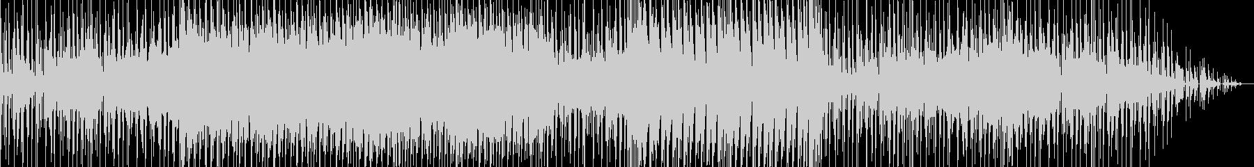 どことなくユーモラスなヒップホップ曲の未再生の波形