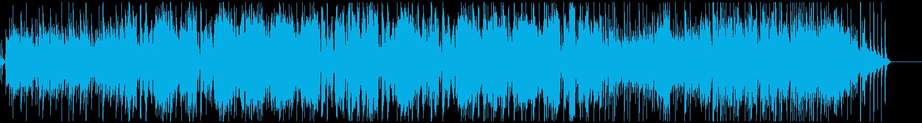 フルートとマリンバのかわいいボサノバの再生済みの波形