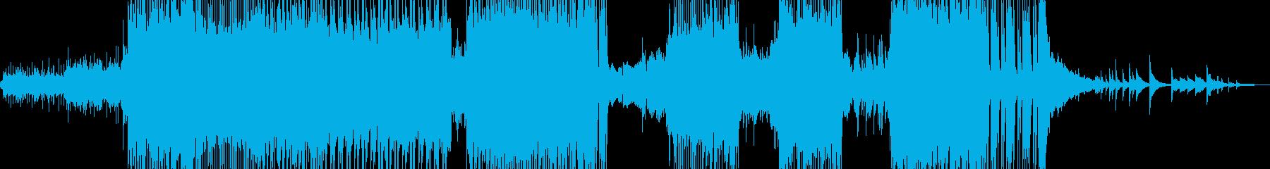 ハッピーを彩るキラキラ弾けるロック +の再生済みの波形