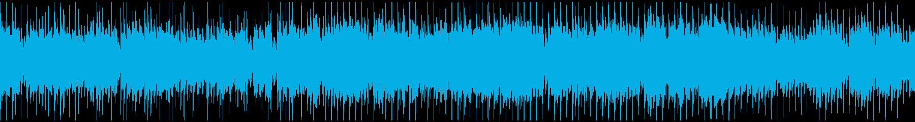 和風、お祭り忍者ディスコ ※ループ仕様版の再生済みの波形