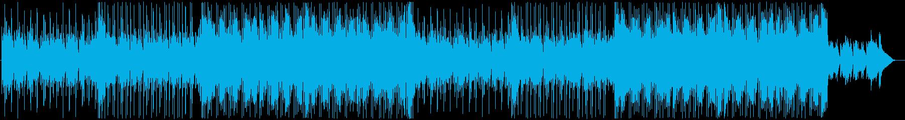 洋楽 フューチャーポップ ED 切ないの再生済みの波形