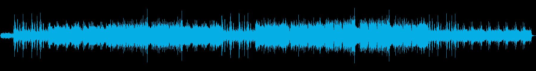 しみじみとしたインストの再生済みの波形