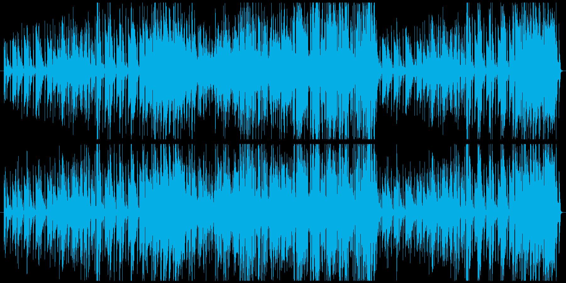 Happyな雰囲気のMediumJazzの再生済みの波形