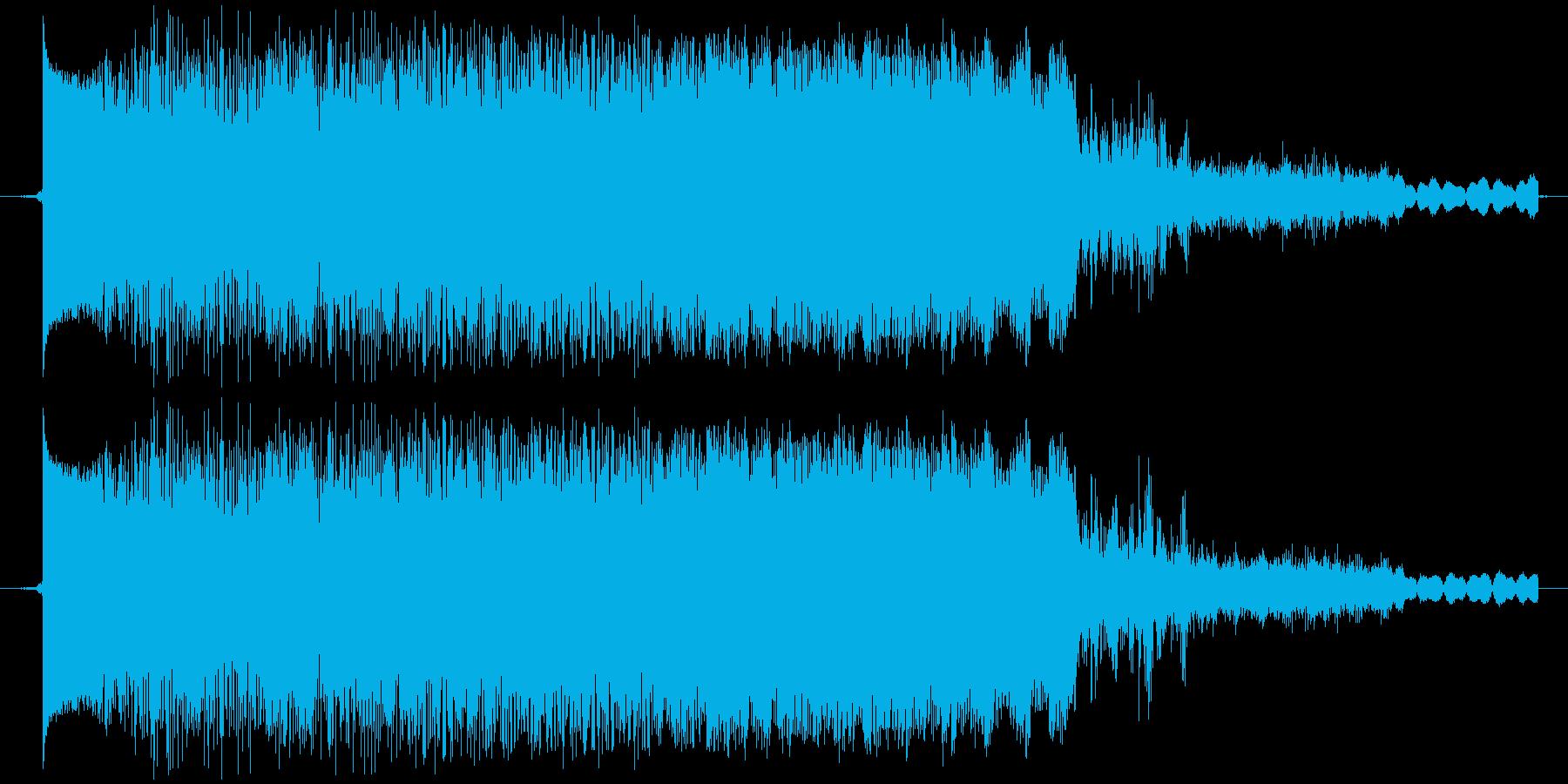 ウィーン・ガチャ(メカ駆動音・高)の再生済みの波形