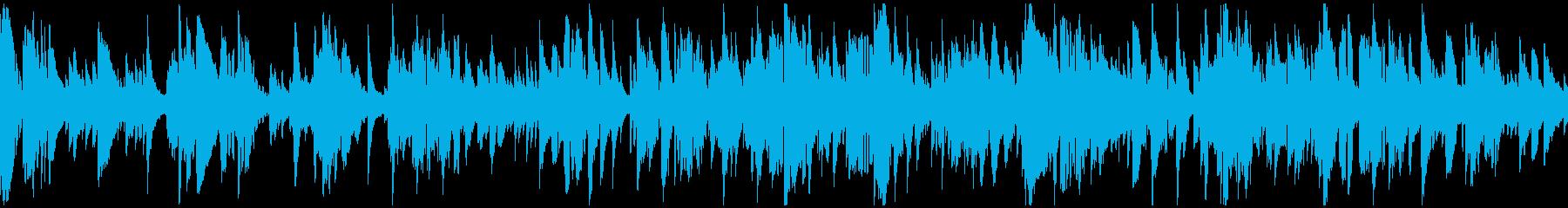 まどろみ感のある大人系バラード※ループ版の再生済みの波形