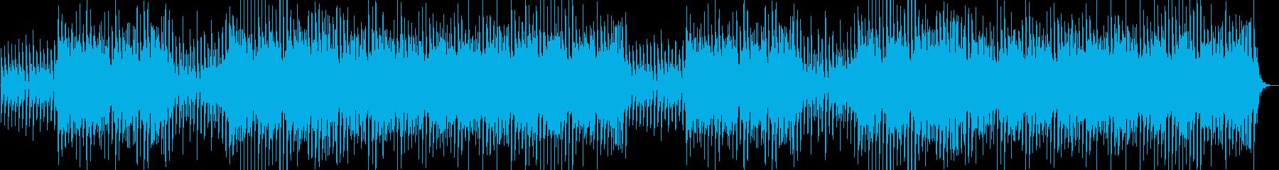 期待感のあるコンセプトムービーBGMの再生済みの波形