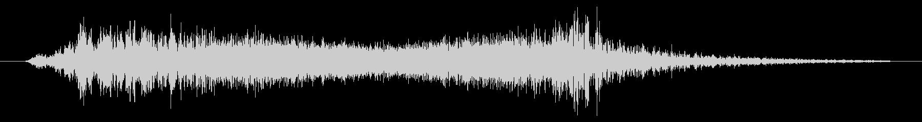 上昇 エイリアンライズアンドドロップ01の未再生の波形