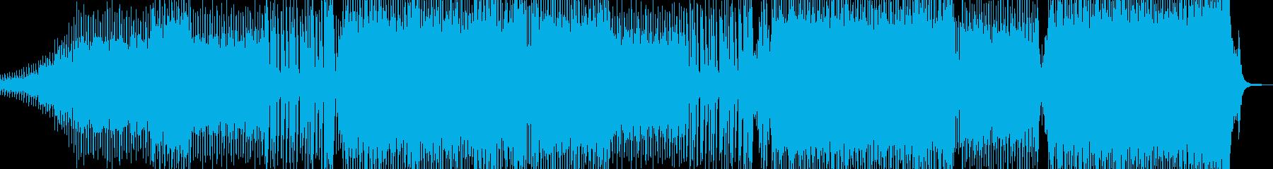 弾けるストリングス・爽快なEDM Aの再生済みの波形