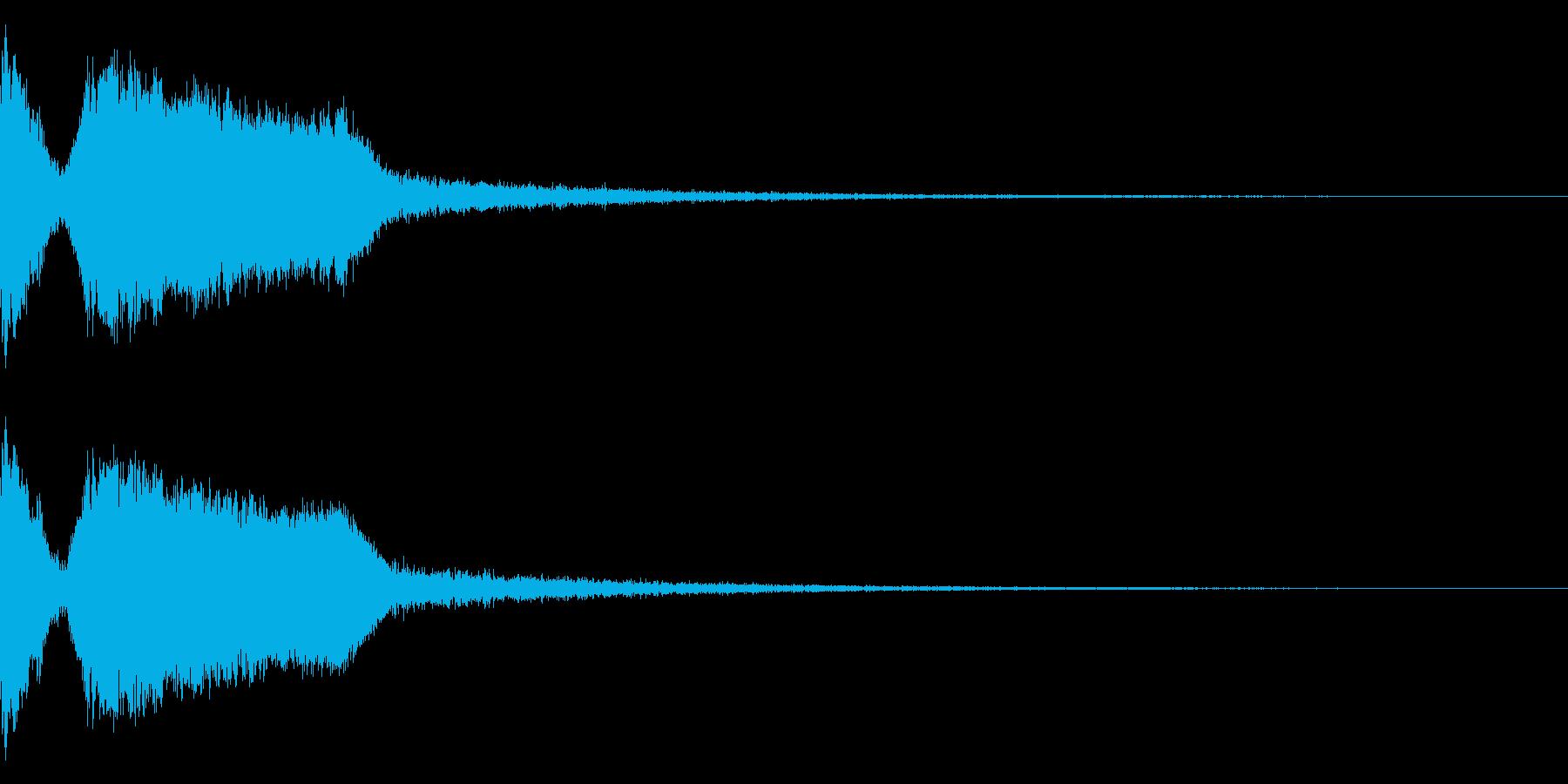 DJFX ヒットチャート発表前SE 2の再生済みの波形