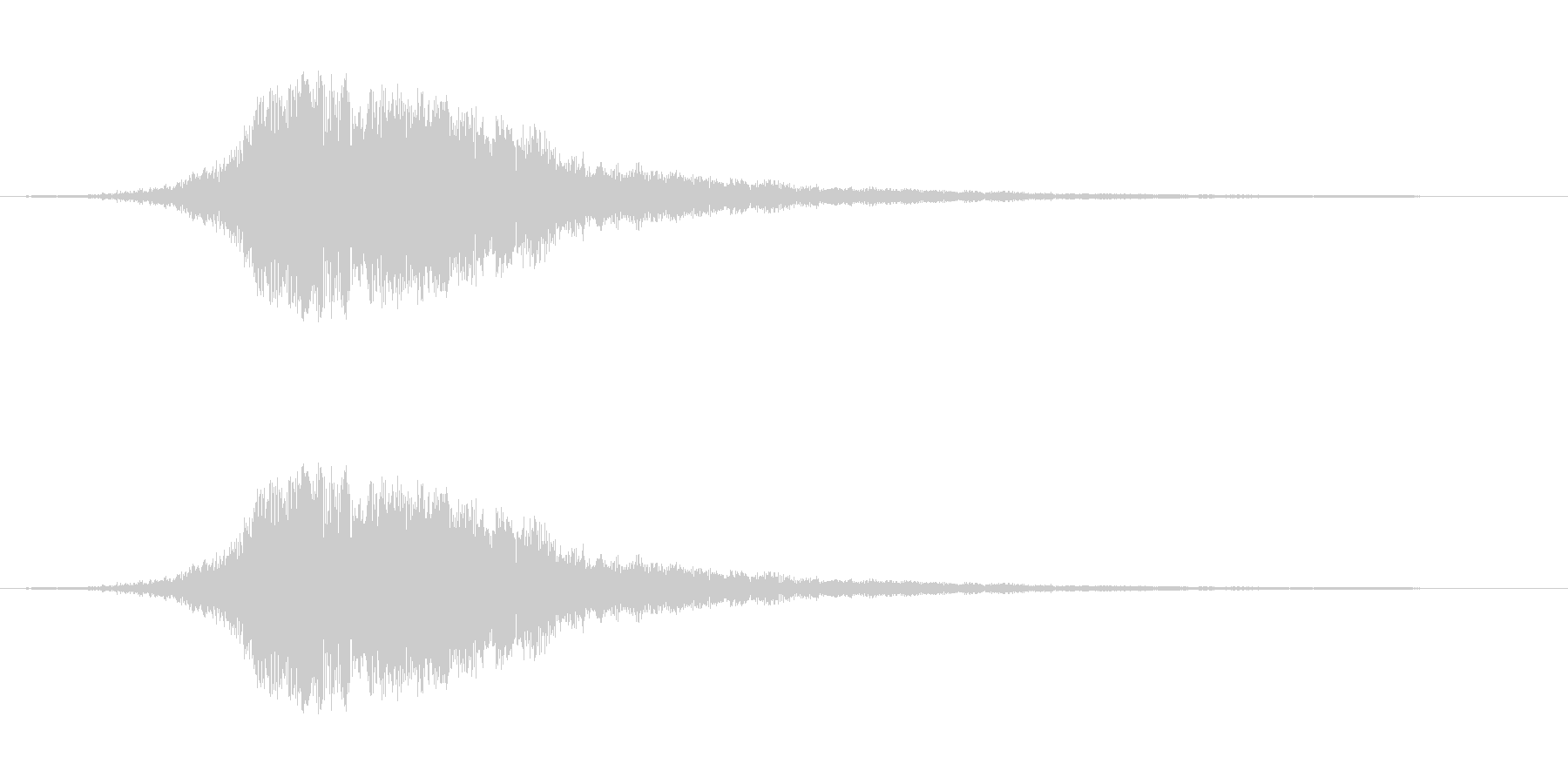金属的な響きの音です。スワイプ、画面切…の未再生の波形