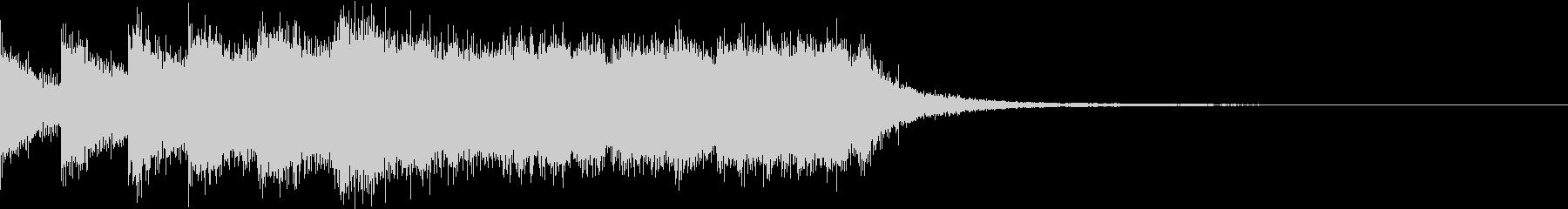 アナログゲーム 音 プレイ コイン 01の未再生の波形