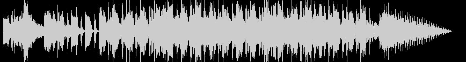 レトロチックで神秘的なBGM の未再生の波形