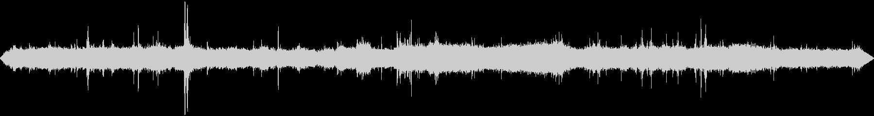 道路工事1  騒音 現場 重機 立体音響の未再生の波形