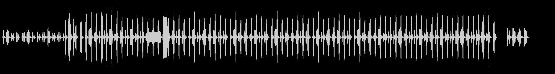ピタゴラスイッチのパロディ_長めの未再生の波形