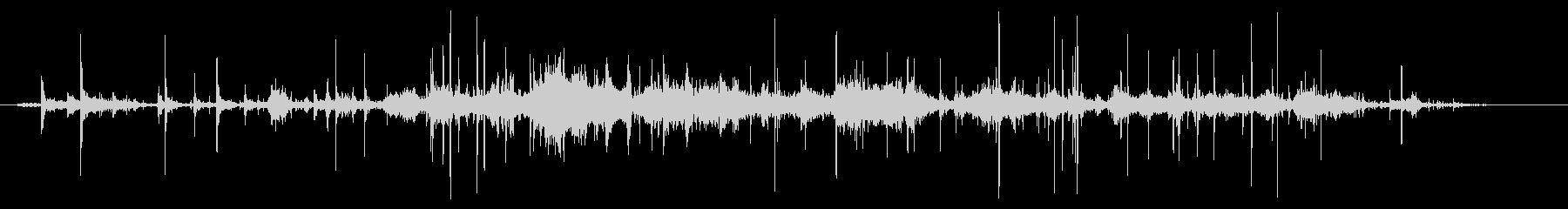 紙を丸める効果音 01の未再生の波形