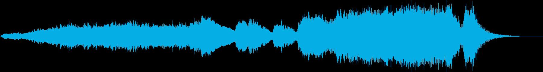 ハリウッド系 ヒーロー登場 ジングルの再生済みの波形