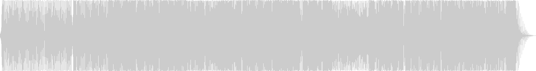ボーカルあり、明るいシンセポップの未再生の波形