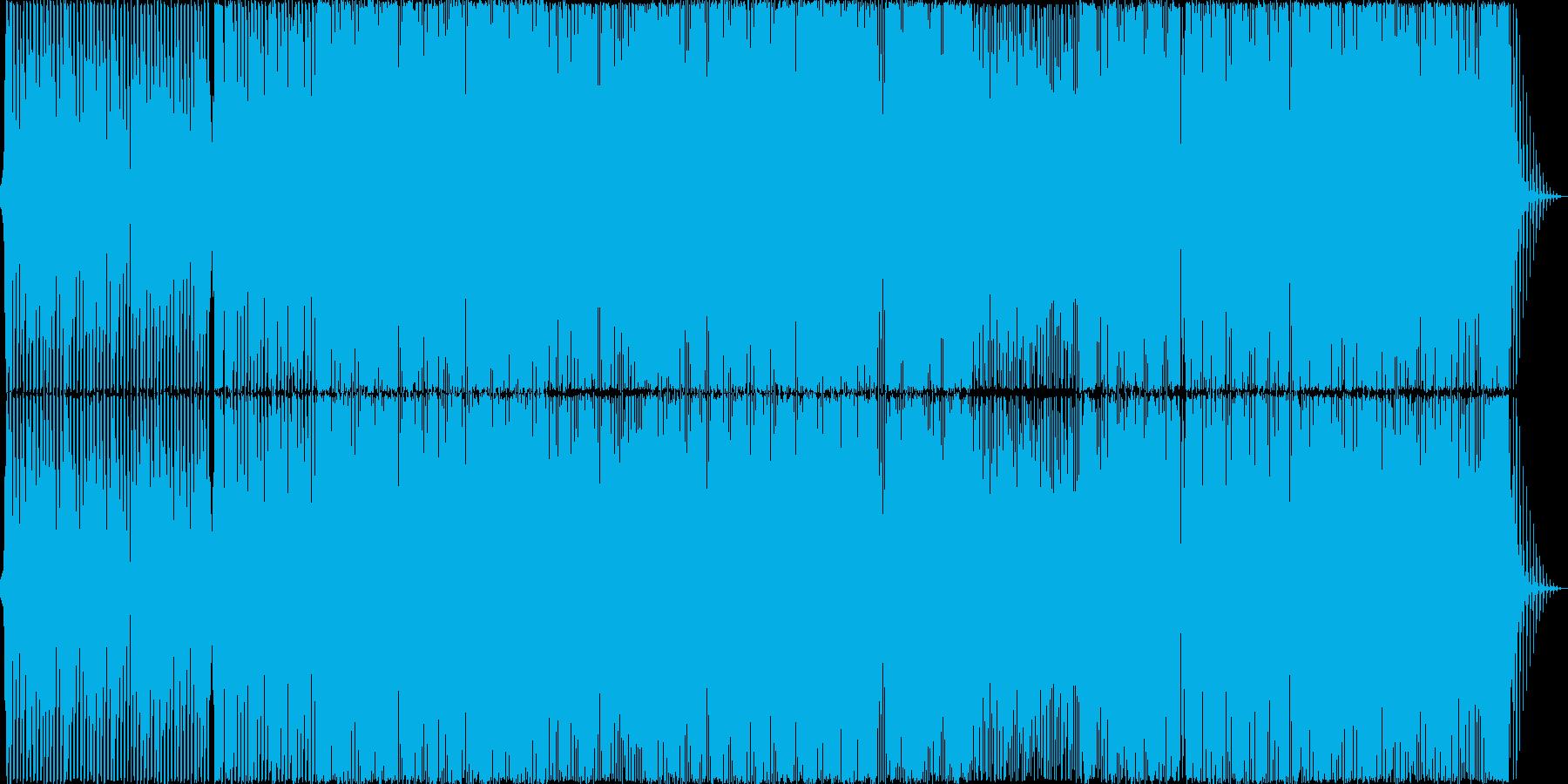 ボーカルあり、明るいシンセポップの再生済みの波形
