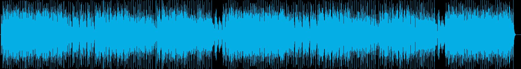 メロディアスなストリングスポップの再生済みの波形