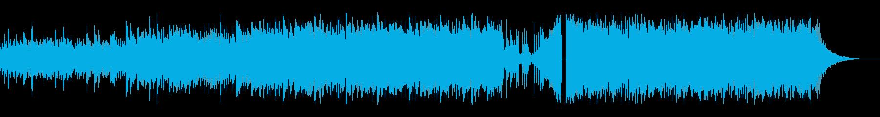 ダークでセンチメンタルなエレクトロポップの再生済みの波形