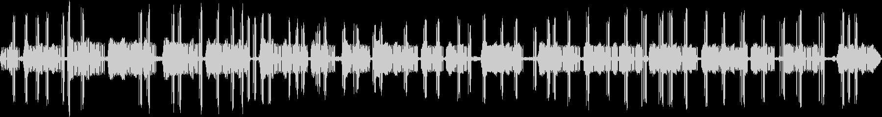 マツムシとコオロギの鳴き声 ピッ・ピリリの未再生の波形