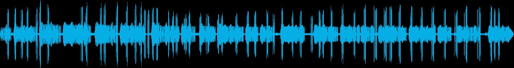 マツムシとコオロギの鳴き声 ピッ・ピリリの再生済みの波形