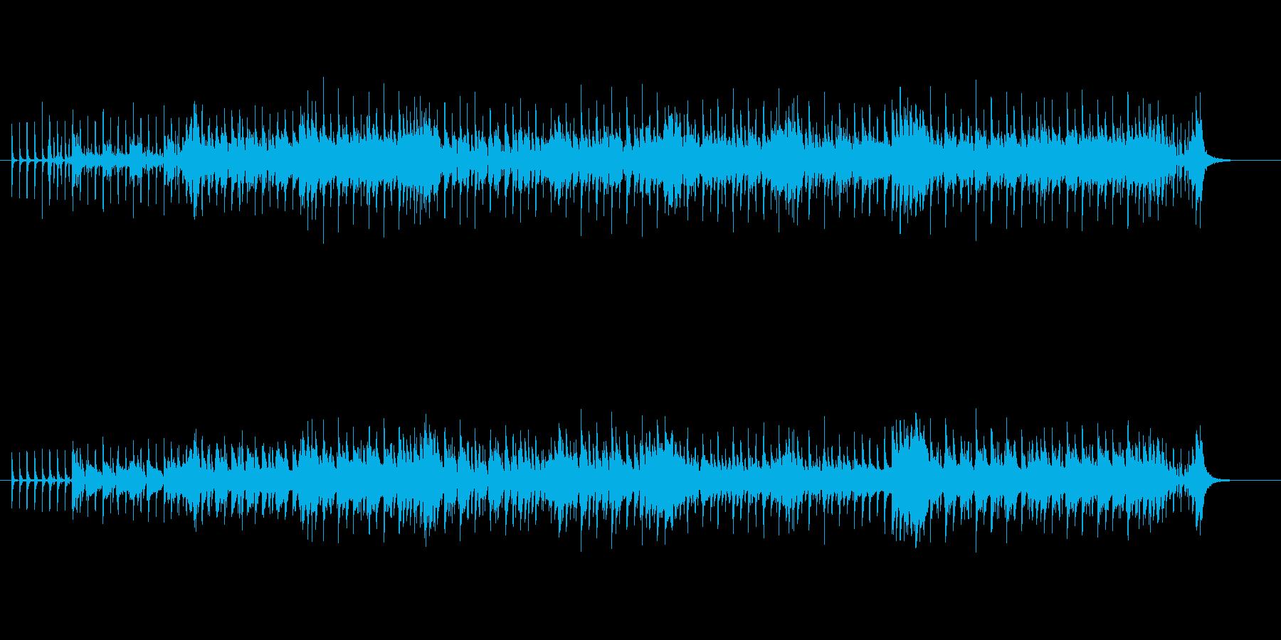 ダンサブルなマイナー・ポップスの再生済みの波形