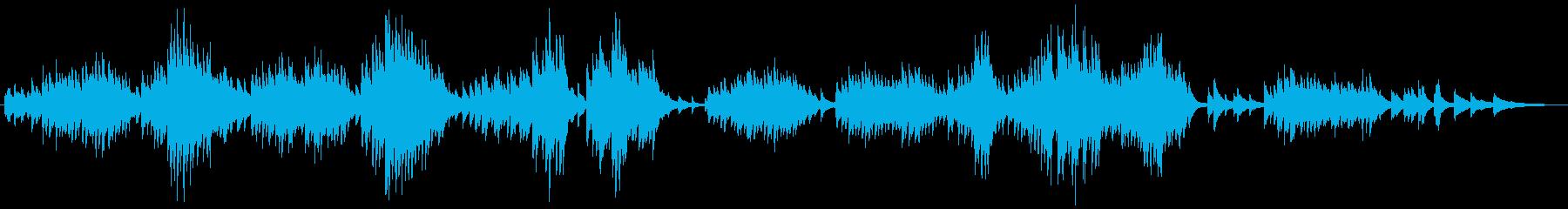 エルガー 愛の挨拶 ピアノの再生済みの波形