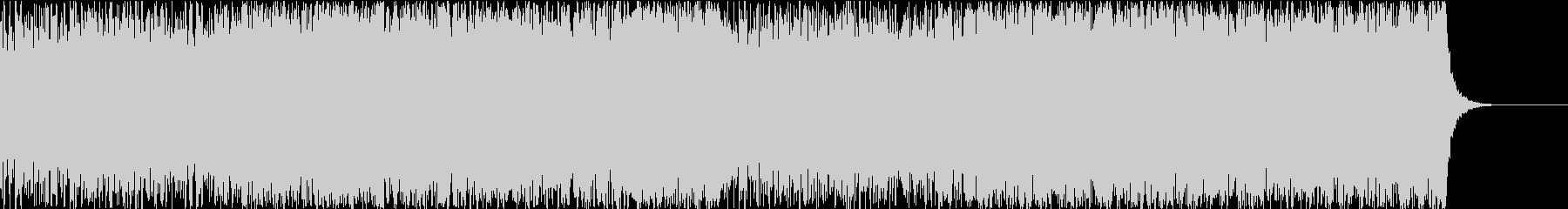 工場・基地・研究所 機械音+オーケストラの未再生の波形