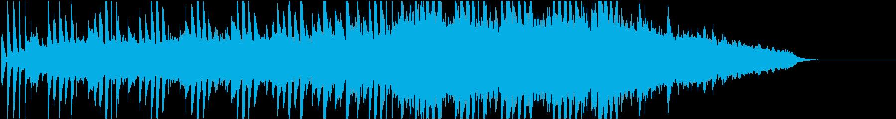韓流1 16bit48kHzバージョンの再生済みの波形