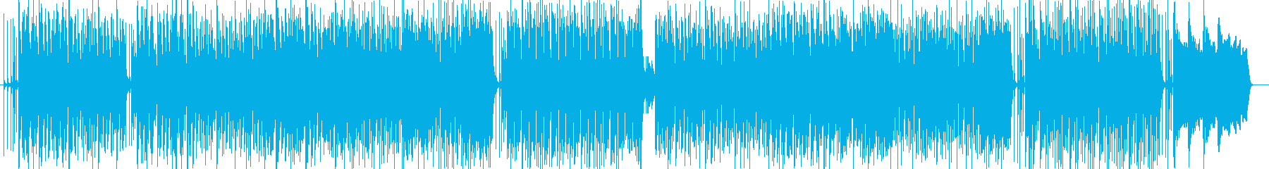 パーカッションが心地よいナチュラル音楽の再生済みの波形
