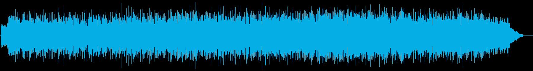 現代のオルタナティブフィールTVプ...の再生済みの波形