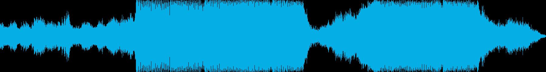 テクノ 技術的な お洒落 ハイテク...の再生済みの波形
