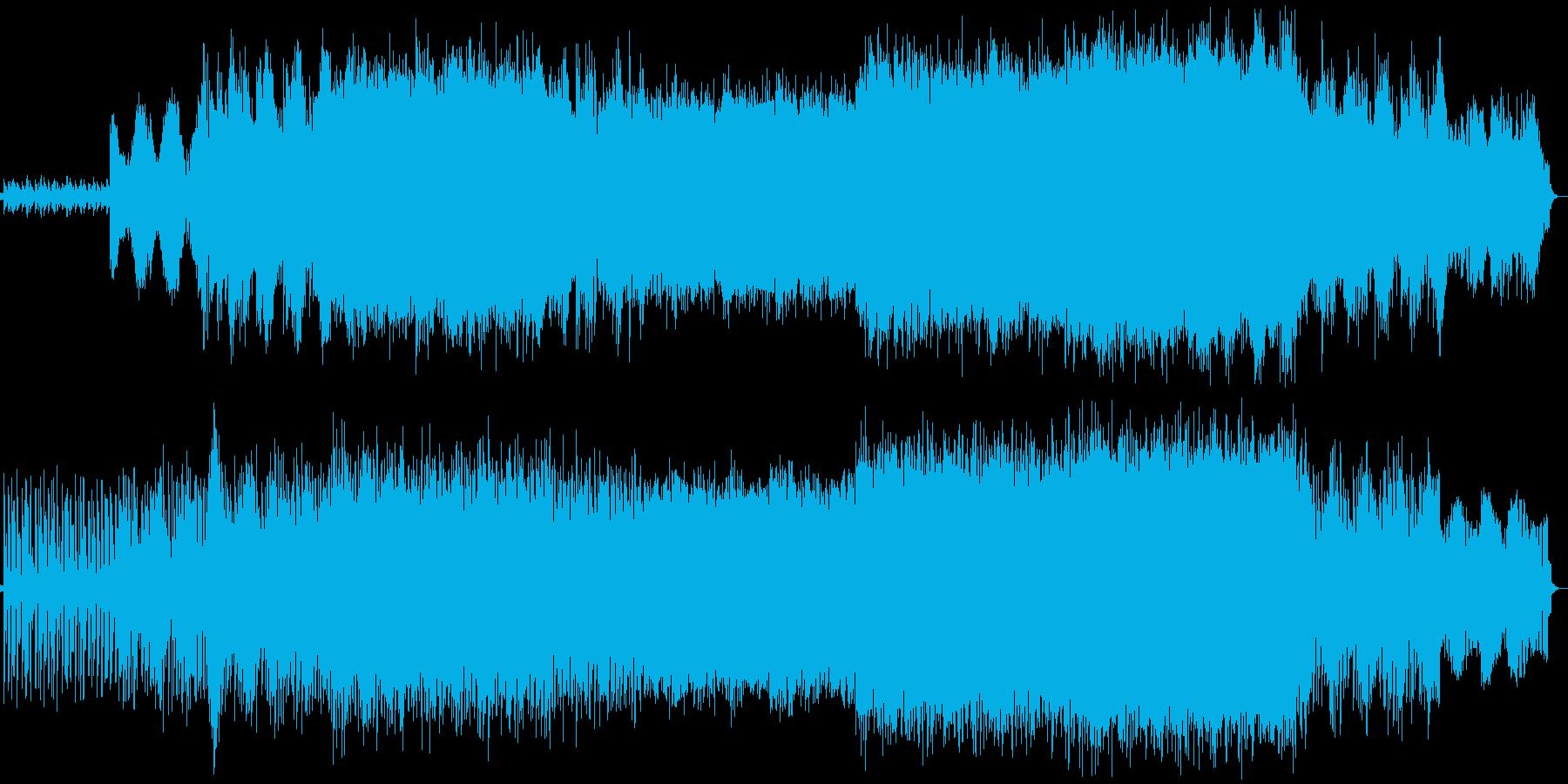 【ドラム・ベース抜き】やや暗めのテクノ…の再生済みの波形