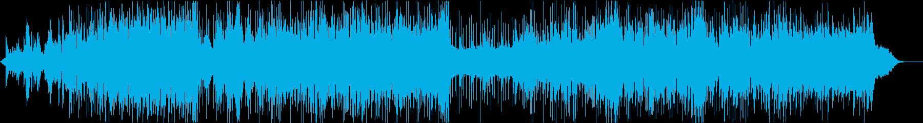 ハッピー 明るい ポジティブ ピアノ の再生済みの波形