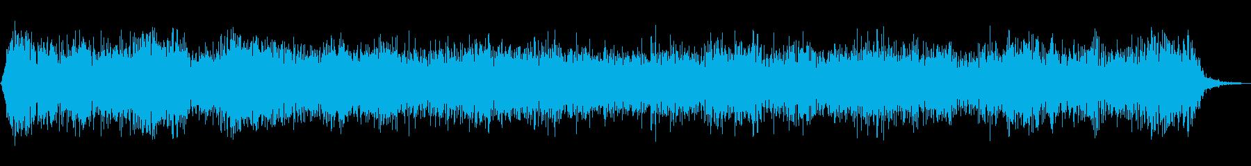 モーターヘビードローン、エレクトロ...の再生済みの波形
