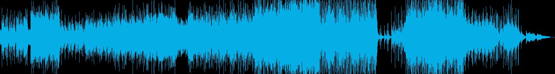 幼少時代の思い出・癒しの三味線ロック Bの再生済みの波形