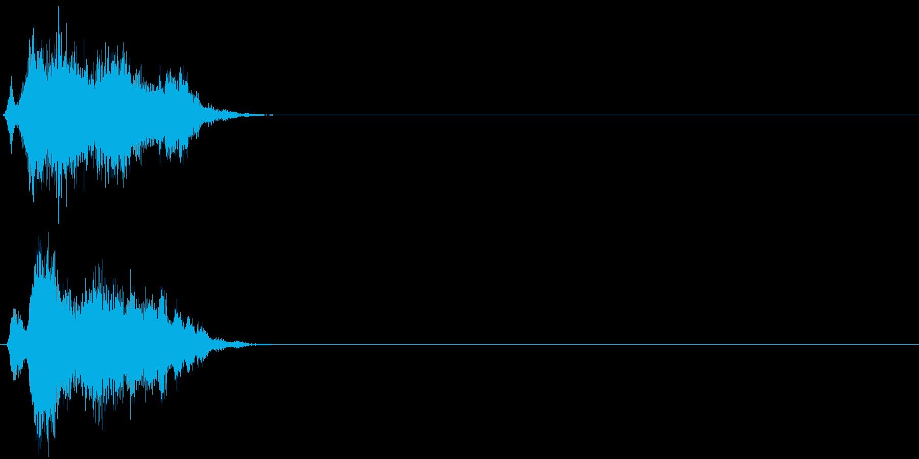 【ゲーム2】刀 ジャキン シャキン 金属の再生済みの波形