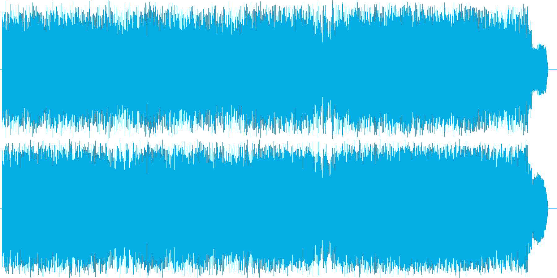 明るいpopなロックソング!!の再生済みの波形