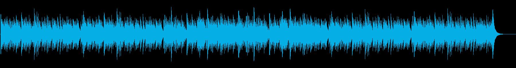 ほっこりするロマンチックなオルゴールの再生済みの波形