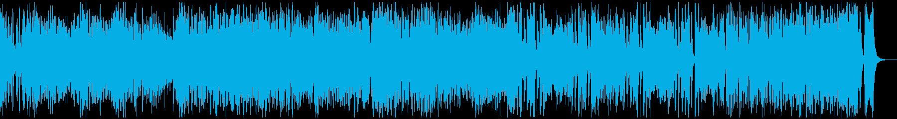 わくわく楽しい軽快なラグタイムピアノ03の再生済みの波形