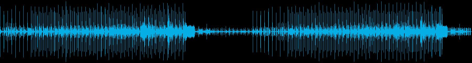 オープニング感、可愛らしい大人しめ電子音の再生済みの波形