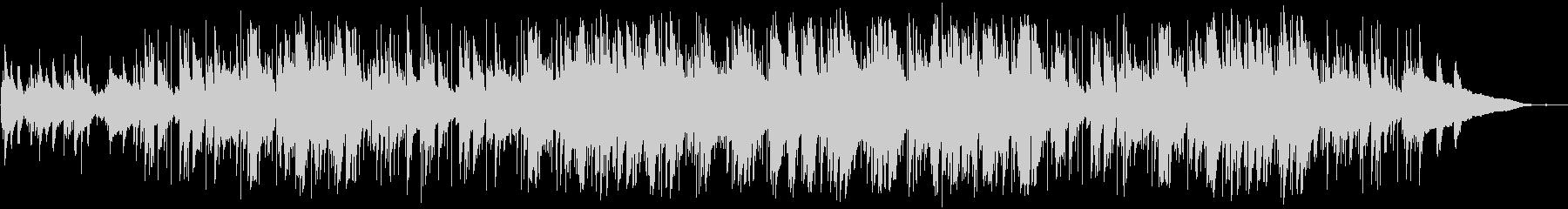 ほのぼのしたピアノとアコギのポップスの未再生の波形