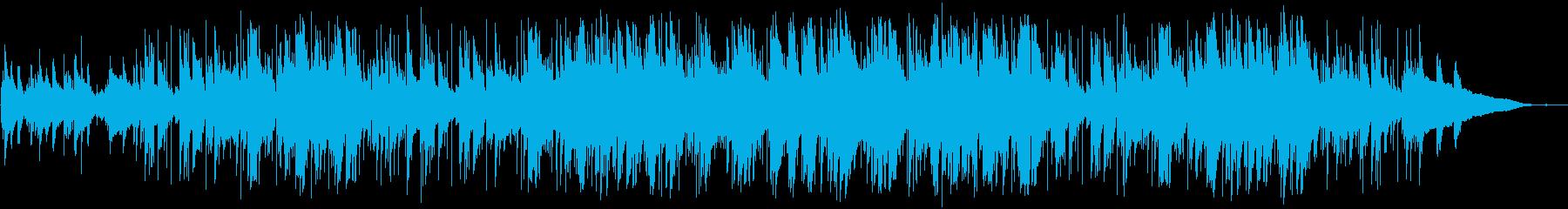 ほのぼのしたピアノとアコギのポップスの再生済みの波形