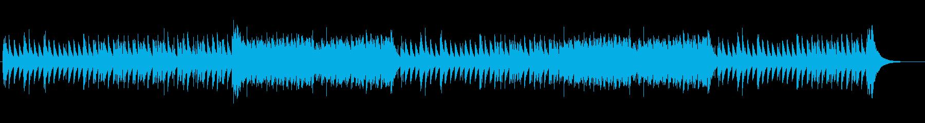ミステリー感漂う静かなベルのバラードの再生済みの波形